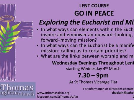 Lent Course