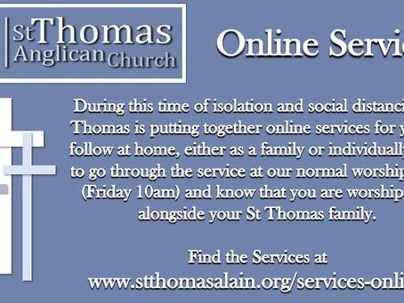 St Thomas Online Services