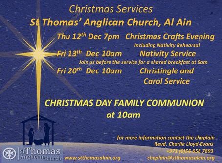 Christmas at St Thomas