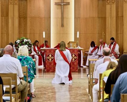 Revd Charlie is Ordained to the Priesthood