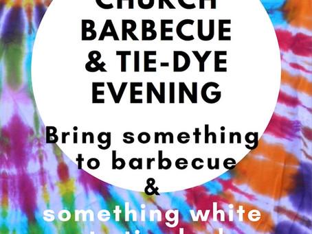 Valentine's Day BBQ and Tie-Dye Evening