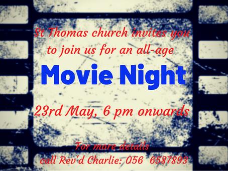 Movie Night at St Thomas