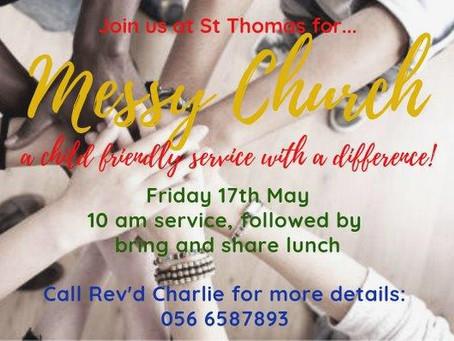 MESSY CHURCH @ ST THOMAS