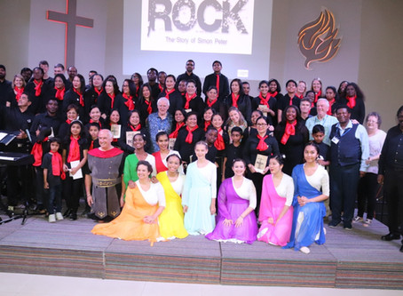 ROCK Musical in Al Ain was a BIG HIT