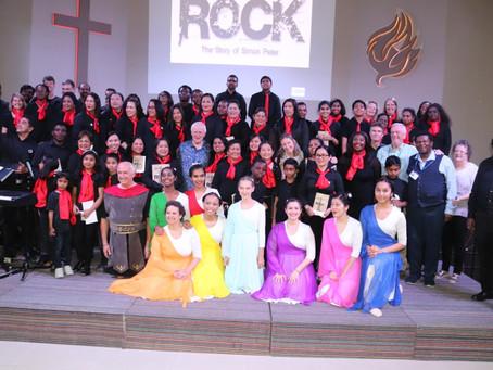 ROCK Musical in Al Ain was a BIG HIT