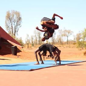 Ninja Circus, Photo by Nara Svarga Ali Bisset
