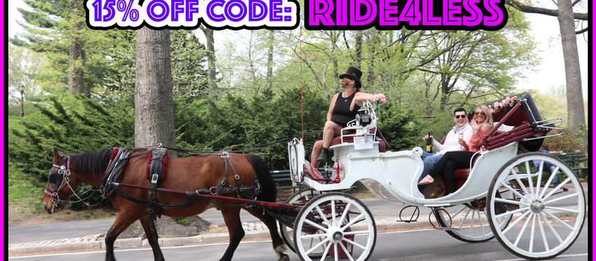 NYC Horse Carriage Rides in Central Park!