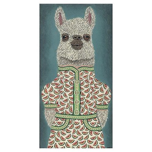 "ART PRINT-""Josie's Watermelon Dress"""