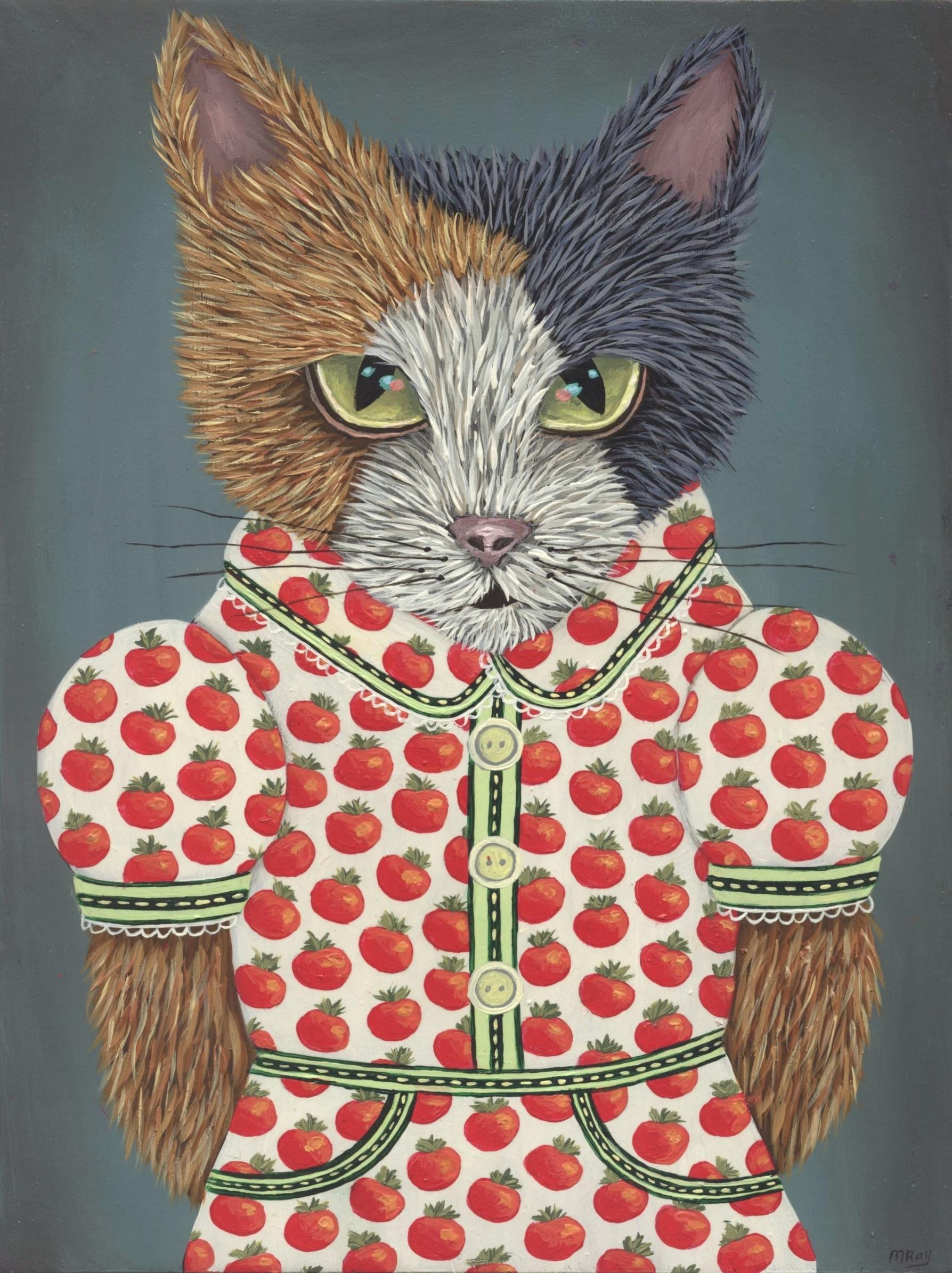 Kitty's Tomato Dress