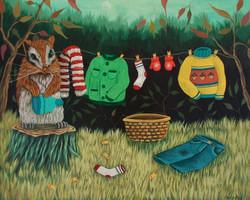 Little Clothes Line (Boy)