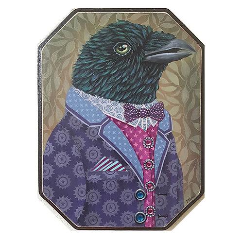 "ORIGINAL-""Garden Portraits- Raven"""