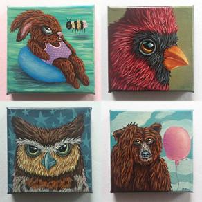5 x 5 MINI Painting Series