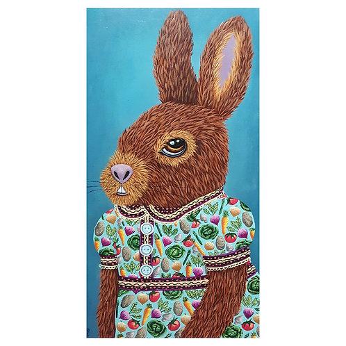 "ORIGINAL-""Bunny Dress (vegetables)"""