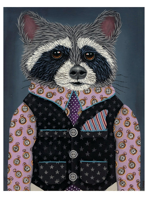 "ART PRINT-""Freddie's Timepiece Suit"""