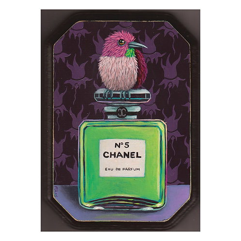 "ORIGINAL-""Bottle #22"" (Aqua Chanel No. 5)"