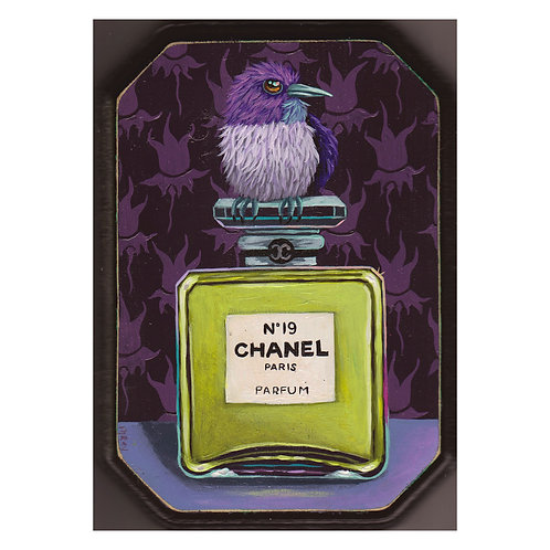 "ORIGINAL-""Bottle #20"" (Chanel No. 19)"