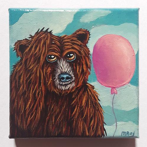 "ORIGINAL-""Balloony Bear #8"""