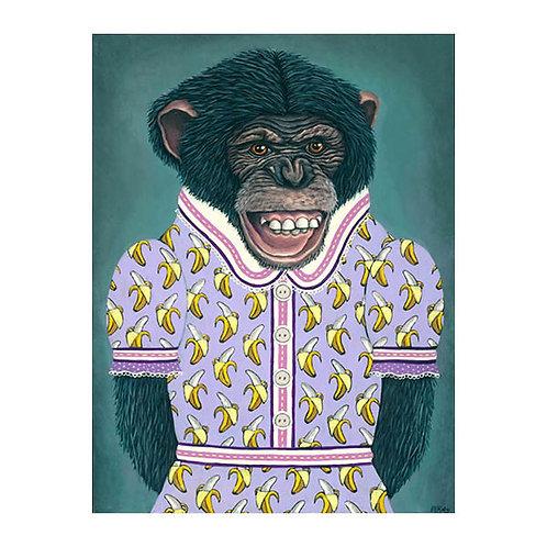 "ORIGINAL-""Charity's Banana Dress"""