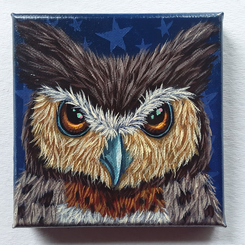 """ORIGINAL-""""Owl Face 2"""""""