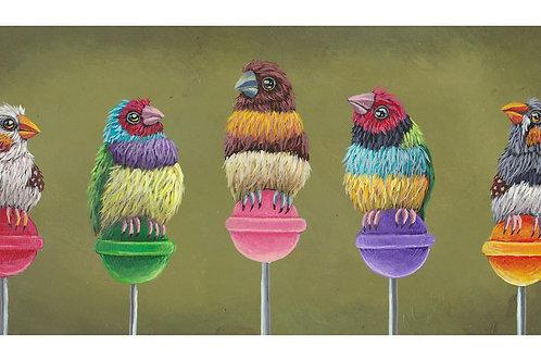 """ART PRINT-""""Lollipop Party"""""""
