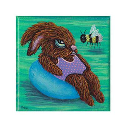 """ORIGINAL-""""Angry Bunny #19"""""""