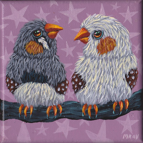 "ORIGINAL-""Finch Couple"""