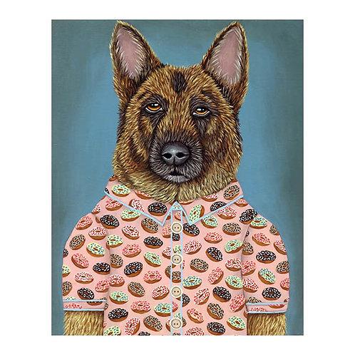 """ORIGINAL-""""Sarge's Donut Shirt"""""""