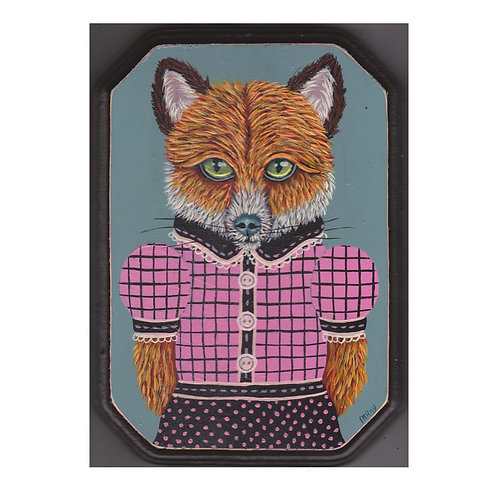 "ORIGINAL-""Fox Lady #15"""