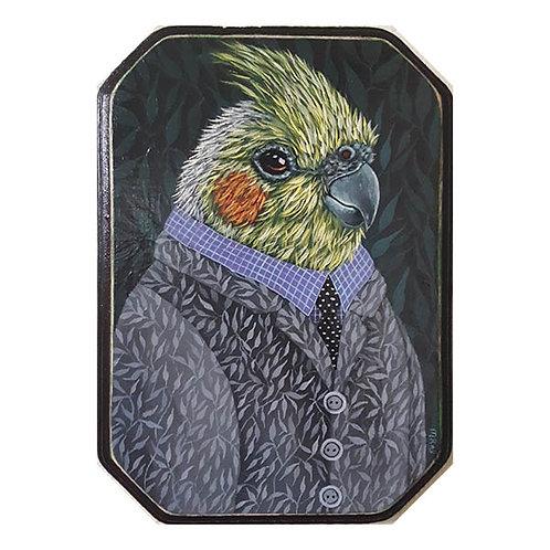 """ORIGINAL-""""Garden Portraits- Cockatiel"""""""