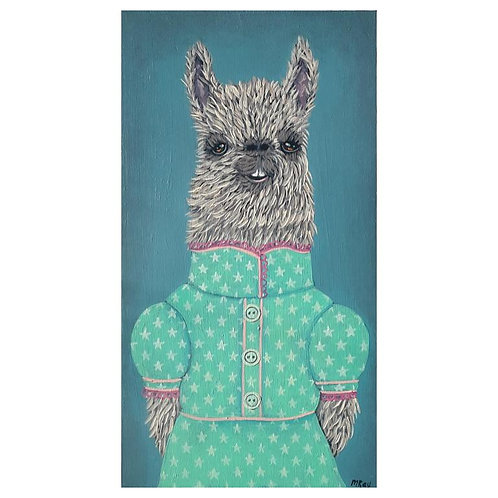 "ORIGINAL-""Llama Lady #2"""