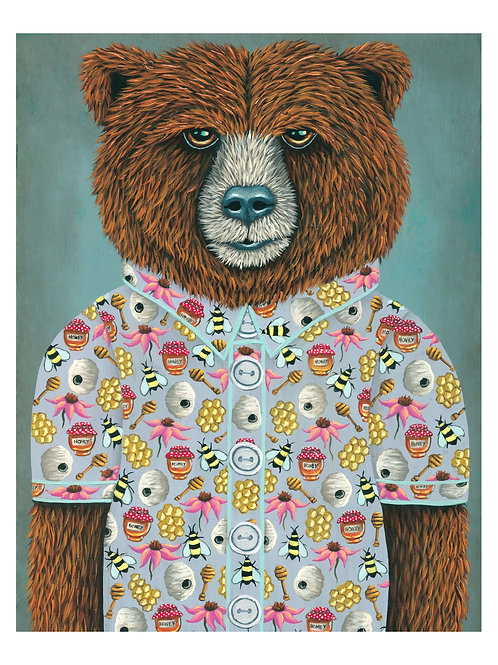 "ART PRINT-""Barry's Honey Shirt"""