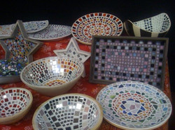 Auswahl Mosaik-Deko 2