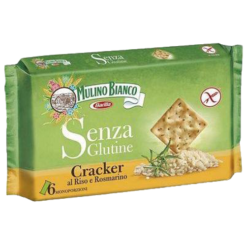 Gluten Free Crackers Mulino Bianco, 200gr