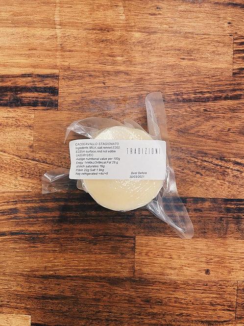 Caciocavallo cheese stagionato