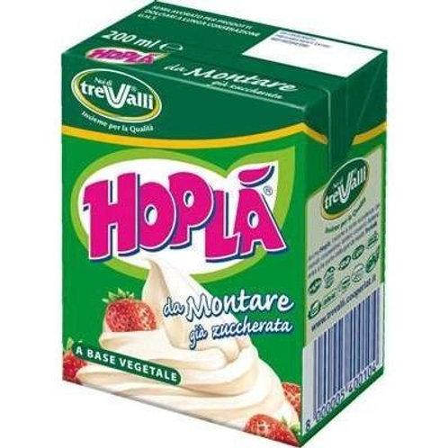 Hoplà vegetarian whipping cream, 200 ml