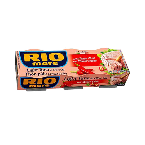 Rio Mare Tuna With Italian Chilli 3 x 80g tins
