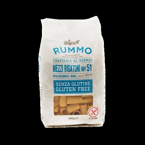 Mezzi Rigatoni Gluten Free Rummo