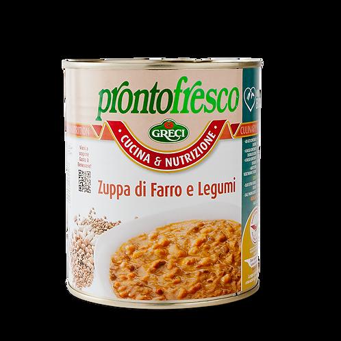 Zuppa di Farro e Legumi Greci 820gr