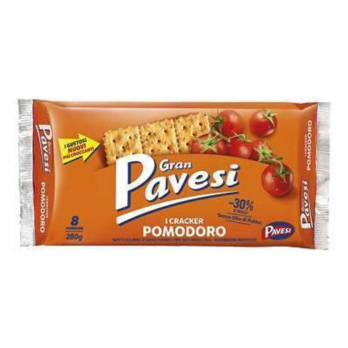 Gran Pavesi crackers with tomatoes, 280 gr