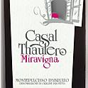 Montepulciano d'Abruzzo Casal Thaulero, bottle