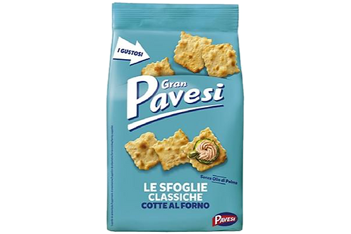 Sfoglie Classiche - Plain Crackers Pavesi 190 gr