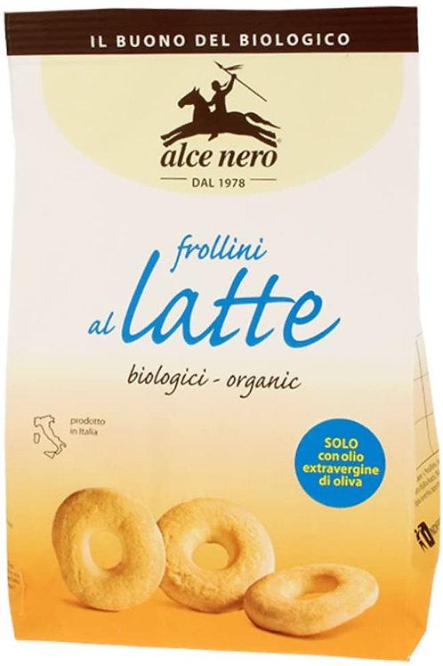 Alce Nero Bio frollini al latte, 350 g