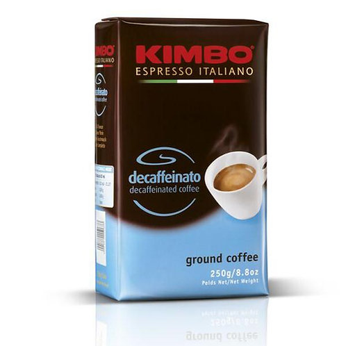 Decaf coffee Kimbo, 250 gr