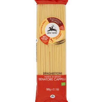 Alce Nero Bio spaghettoni semola Senatore Cappelli 500g