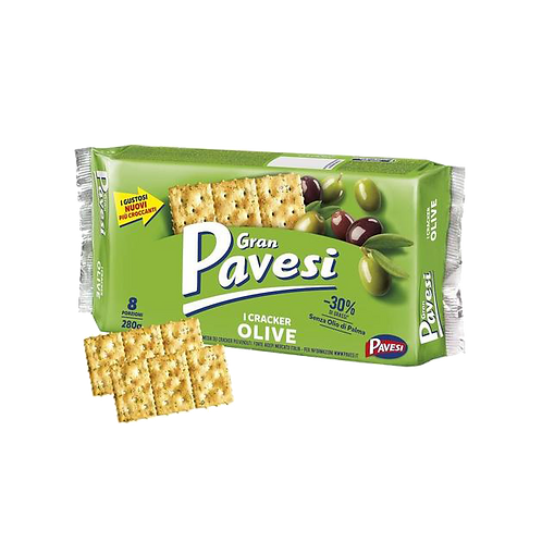 Pavesi Crackers Olives, 280 gr