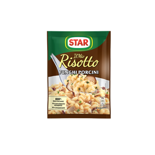 Risotto Porcini mushrooms, Star 175 gr