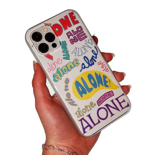 'Alone' insert + clear case