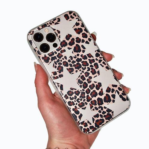'Starry Leopard' insert + clear case
