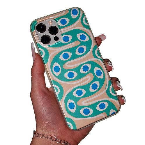 'Snake Eye' insert + clear case