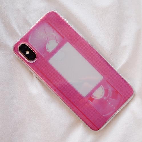 Pink VHS Case